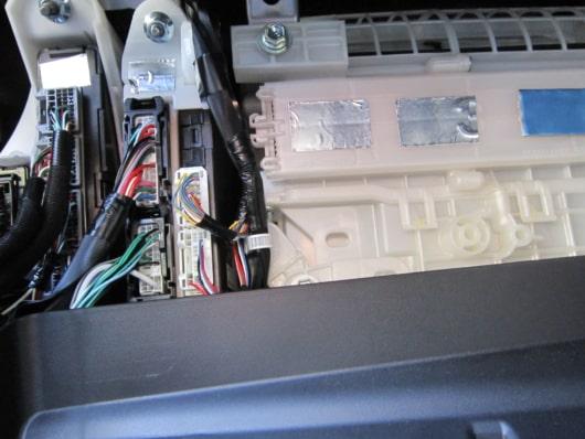 電装系のアルミテープチューン