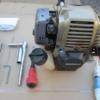 刈払い機と整備用工具