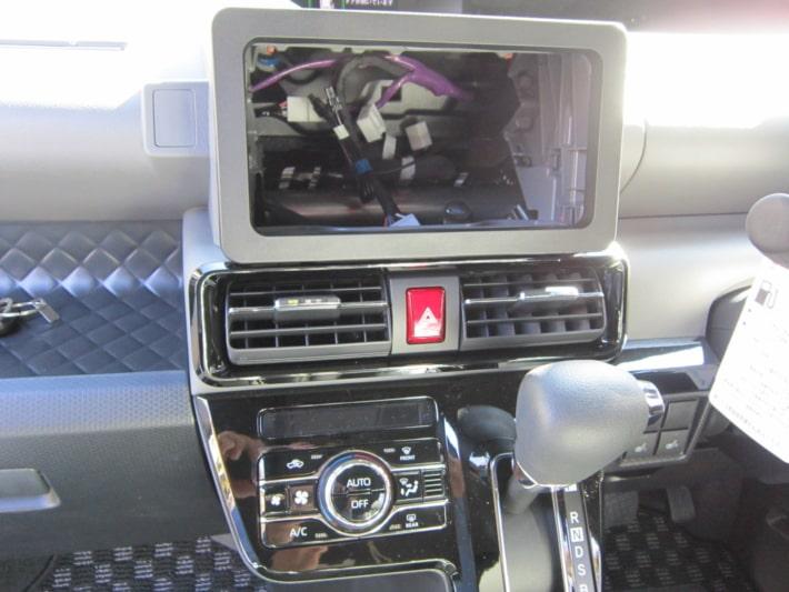新型タントカスタム オーディオレス設定車