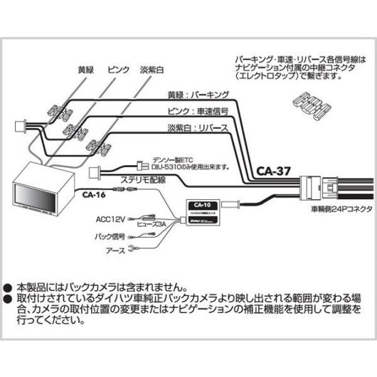 CA-37配線図