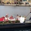 ミラコスタで結婚式!うれし恥かしヴェネツィアン・ゴンドラでの船出