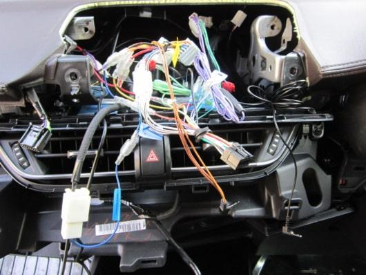 配線の接続状況