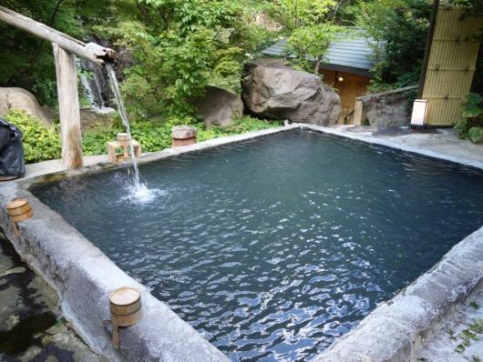 混浴露天風呂 雪見の湯