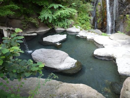 混浴露天風呂 滝見の湯
