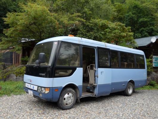 八丁の湯 送迎バス