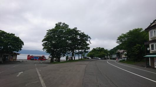 子ノ口十和田湖遊覧船乗り場付近
