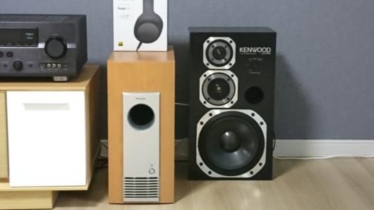 フロントスピーカー KENWOOD KENWOODのLS-550