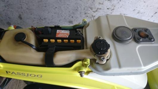 2サイクルパッジョグのオイルタンク