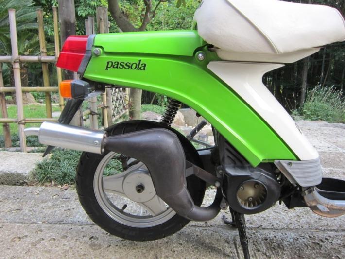 2サイクルエンジン パッソーラのチャンバー